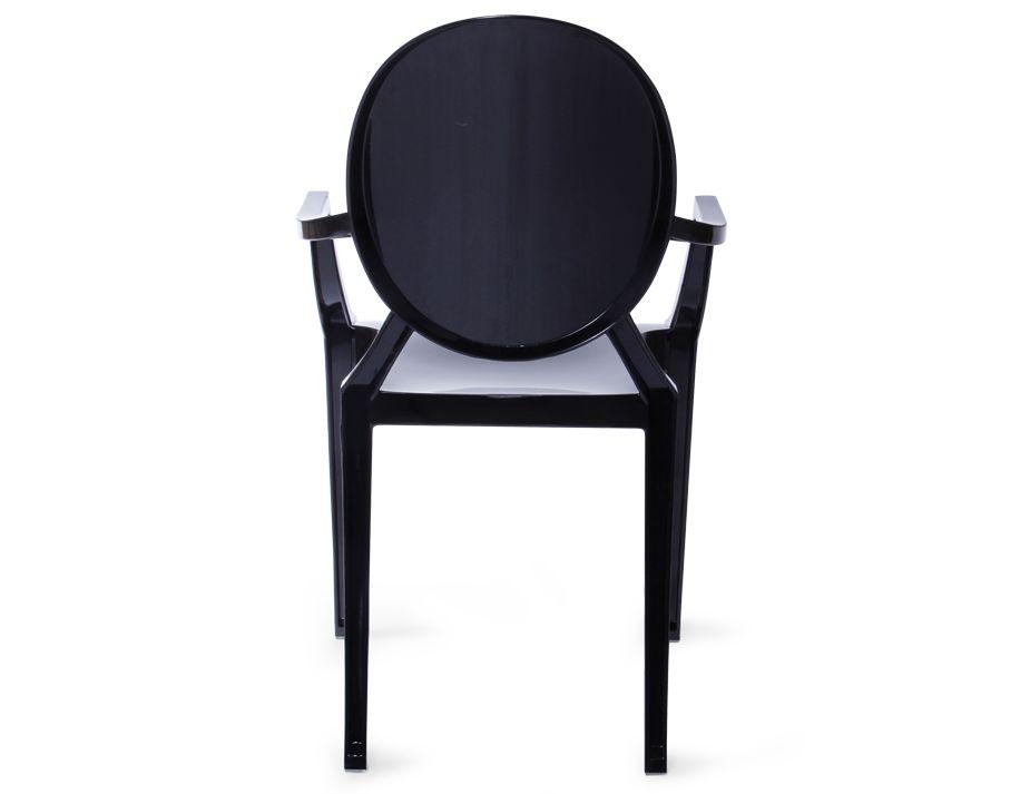 Black Ghost Chair Replica Louis Ghost Arm Chair