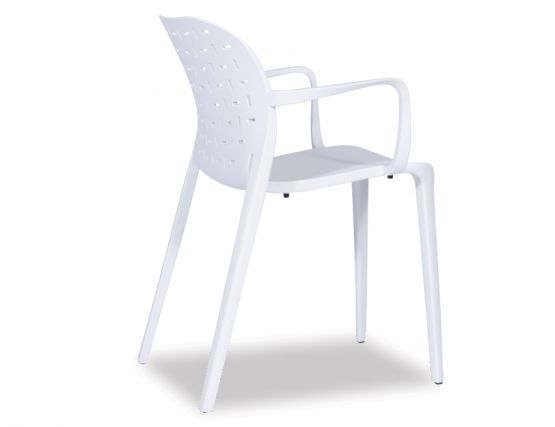 Modern White Outdoor Chair