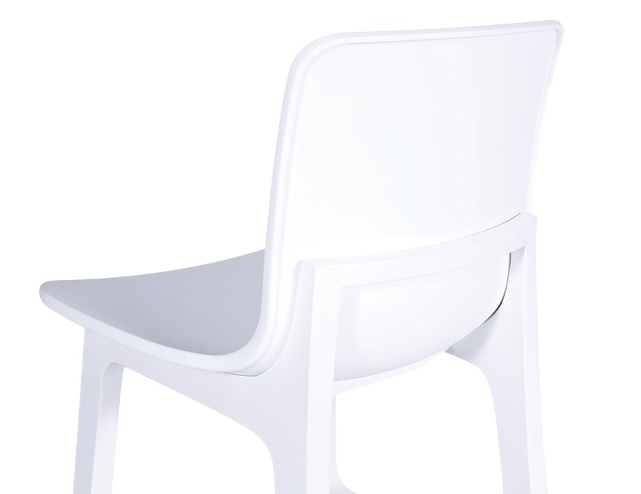White Counter Stool