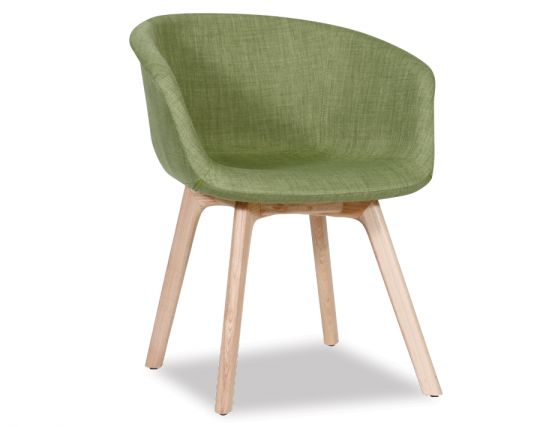Green Wood Tub Chair