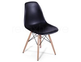 Eames Eiffel Chair Wood Black_1