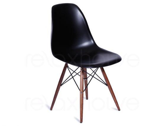 Eames eiffel dsw black dining chair - Eames dsw eiffel chair ...
