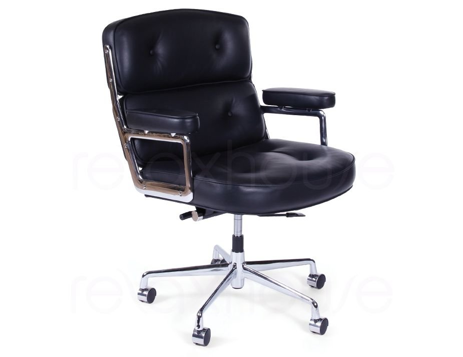 Charmant Eames Soft Pad Leather Office Chair 1 ...