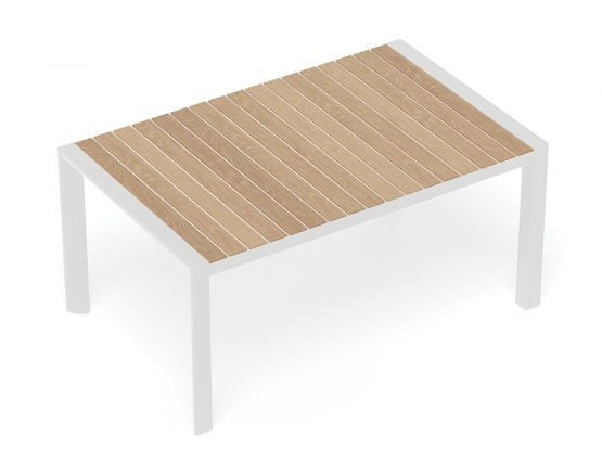 Timber White Dining Table Furniture Outdoor Bench