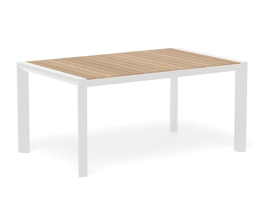Vydel Outdoor Table White Teak