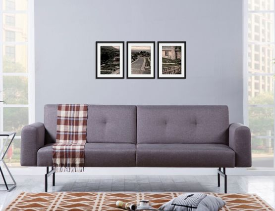 Max 3 Seat Sofa Bed Grey
