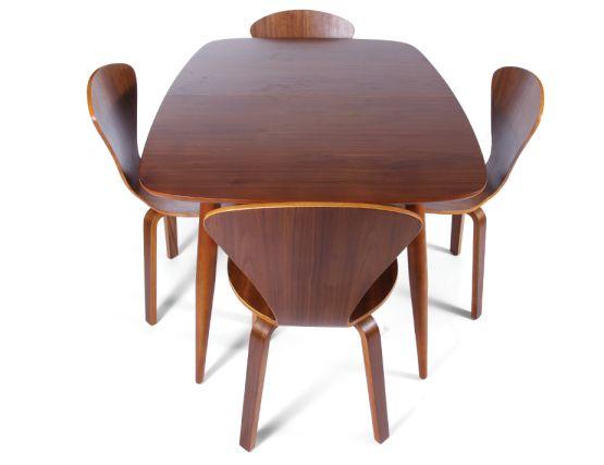 Copenhagen Extendable Vintage Danish Dining Table Walnut