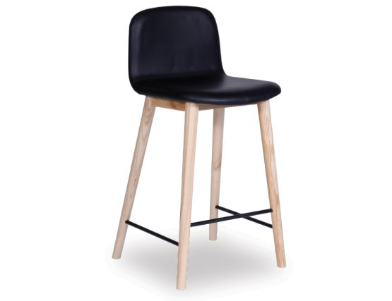Castle Stool Black Vinyl