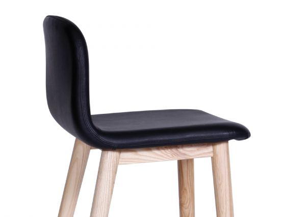 Black Seated Stool