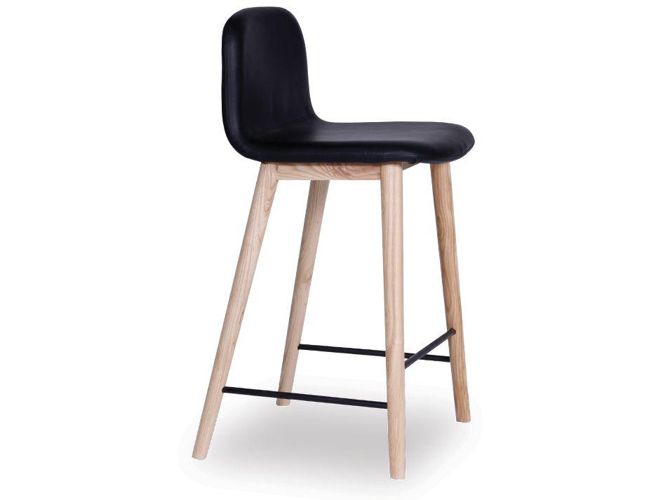 Castle Scandinavian Timber Bar Stool Natural American  : black stool from www.relaxhouse.com.au size 925 x 713 jpeg 32kB