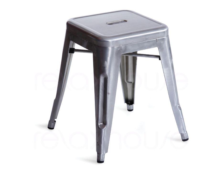 Tolix bar stool galvanized xavier pauchard 45cm - Tolix counter stools ...