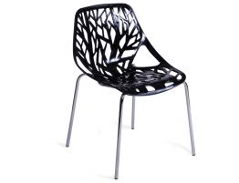 Black Caprice Chair By Marcello Ziliani
