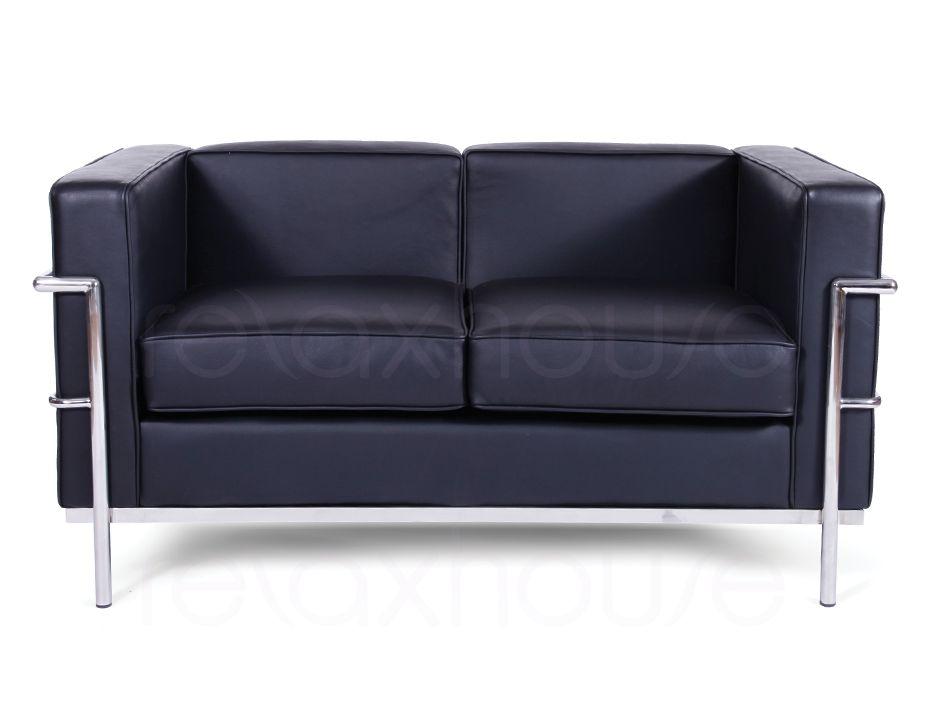 Le Corbusier Lounge Chair Black Leather : Le Corbusier Double Lounge Black from www.relaxhouse.com.au size 925 x 713 jpeg 39kB