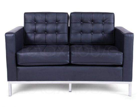 Florence Knoll Double Lounge Black 1