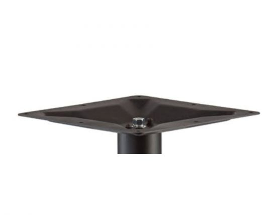 Cafe Table Solid Brax Table Base Flat
