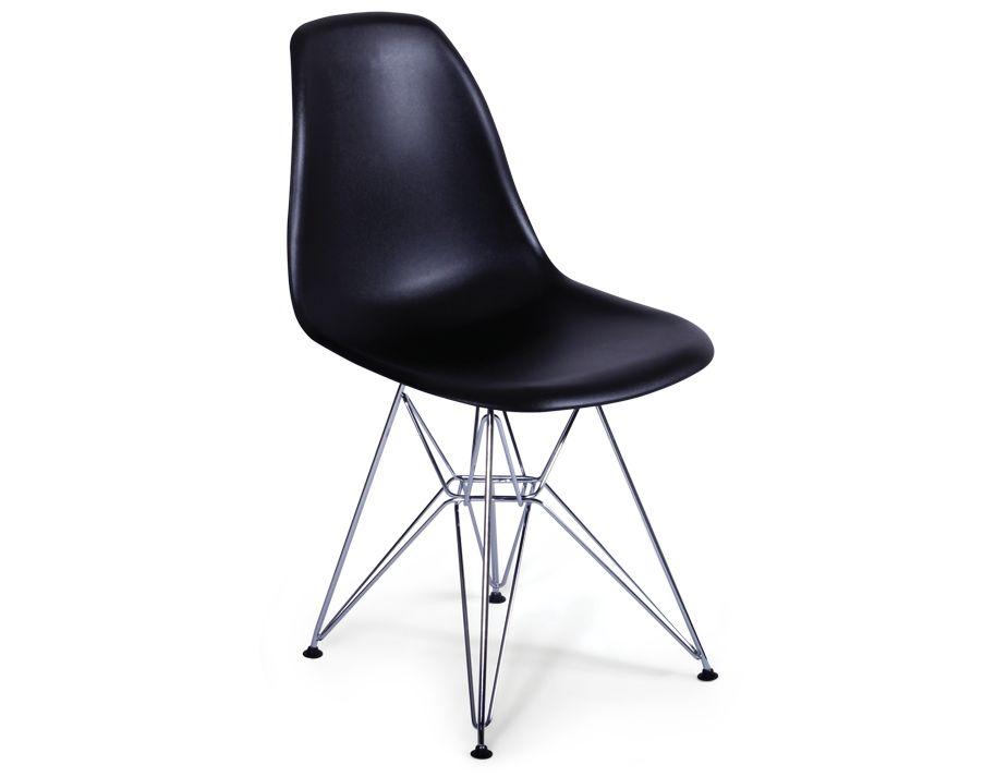 Black eames eiffel dsr chair - Eames eiffel chair reproduction ...