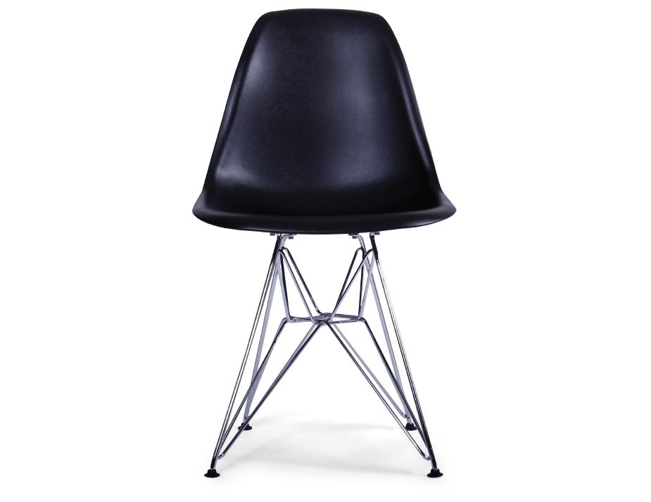 Black Eames Eiffel DSR Chair