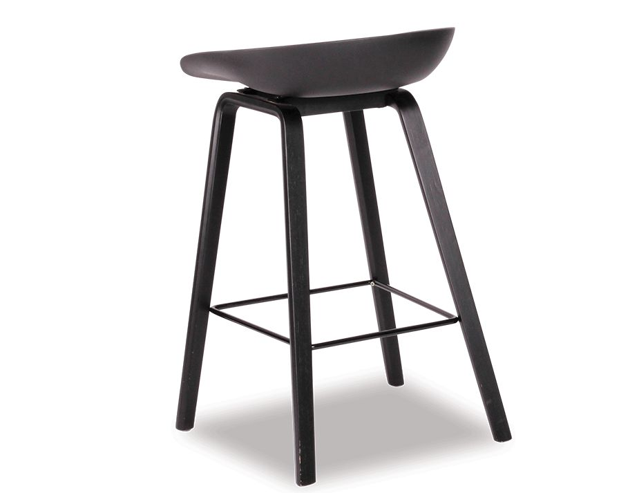 KOBE_Stool_Black_Ash_ Shell_Seat