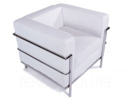 Le-Corbusier-Single-Lounge-White-2