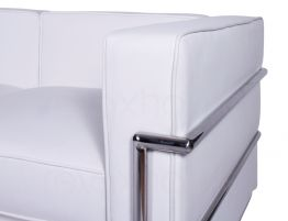 Le Corbusier Double Lounge White 2