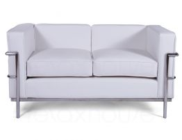 Le Corbusier Double Lounge White