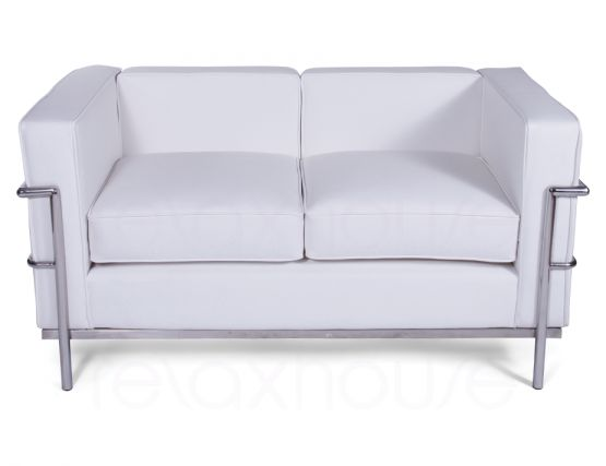 Le Corbusier Double Lounge White 1