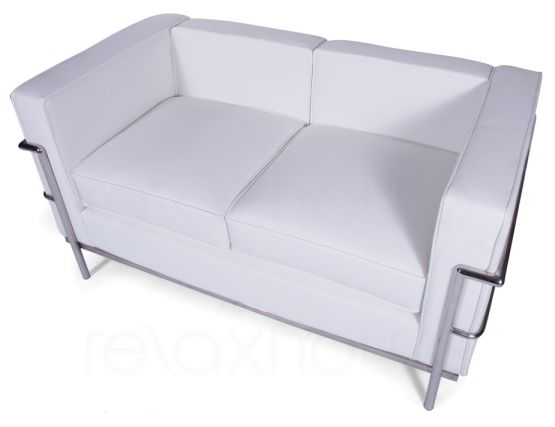 Le Corbusier Double Lounge White 3