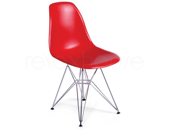 Eames Eiffel Chair Steel Red_1