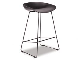 KOBE_Stool_Black_Sled_Base_Frame