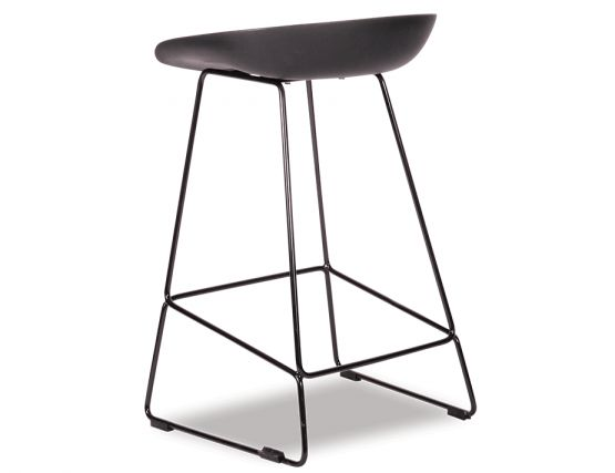 KOBE_Stool_Black_Sled_Base