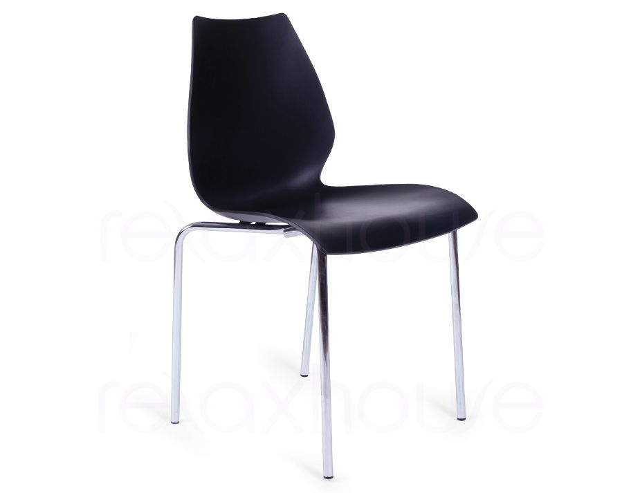 cheap black cafe dining chair