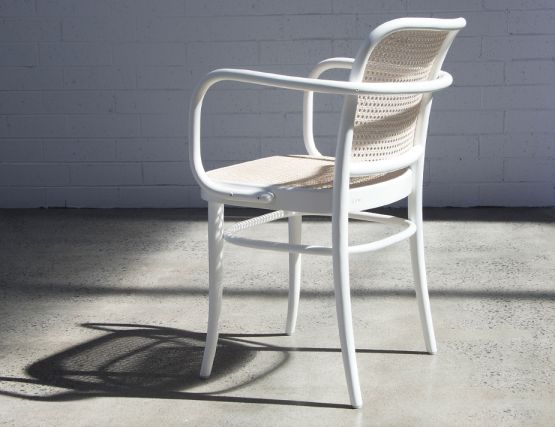 White_Bentwood_ArmChair