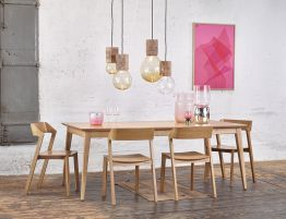 Extendable Table Solid Oak