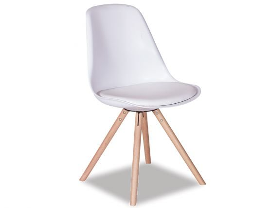 Modern_White Dining Chair