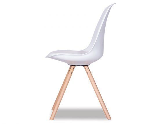 Timber_WHite Dining Chair