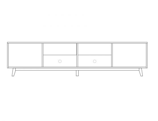 TV Unit 220cm