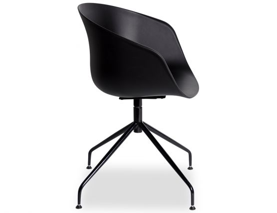Black Ponte_DiningBlack_Chair_Legs