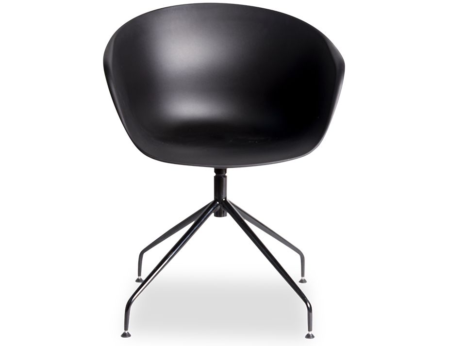 Black Ponte_Dining_Chair_Legs