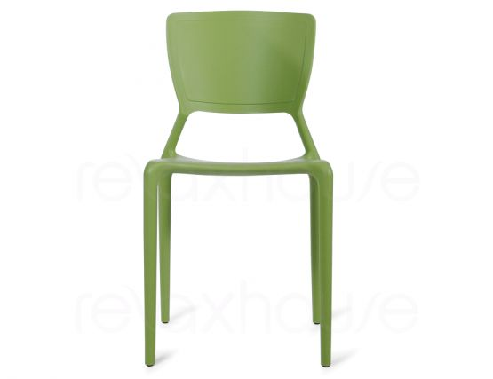 Green Plastic Chair 2