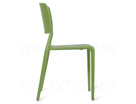 Green Plastic Chair 3