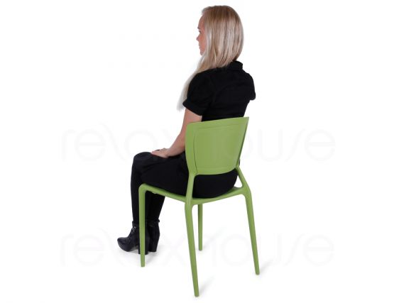 Green Plastic Chair 5