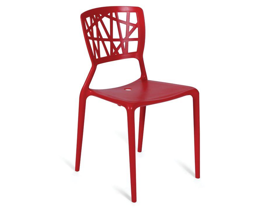 Modern Designer Red Chair