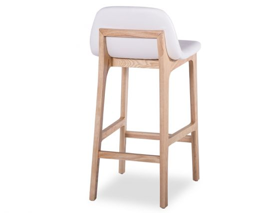 Maxwell Bar Stool Natural Solid