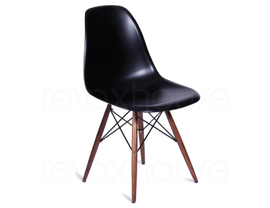Dsw Retro Black Dining Chair Eames Eiffel