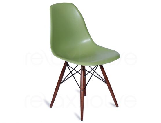 Retro Furniture Eames DSW Eiffel Green Chair