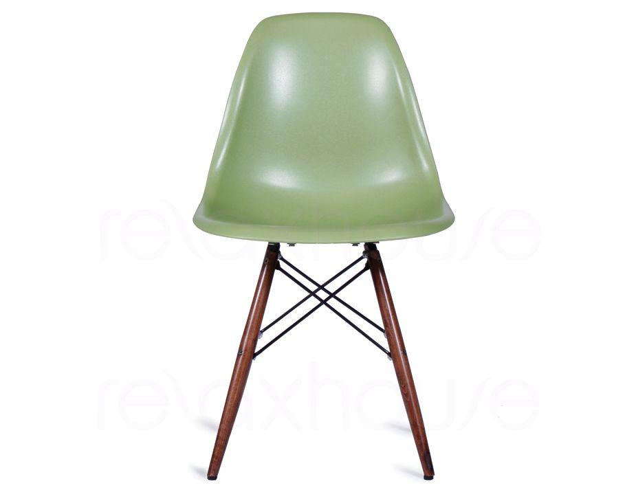Retro furniture eames dsw eiffel green chair - Eames dsw eiffel chair ...