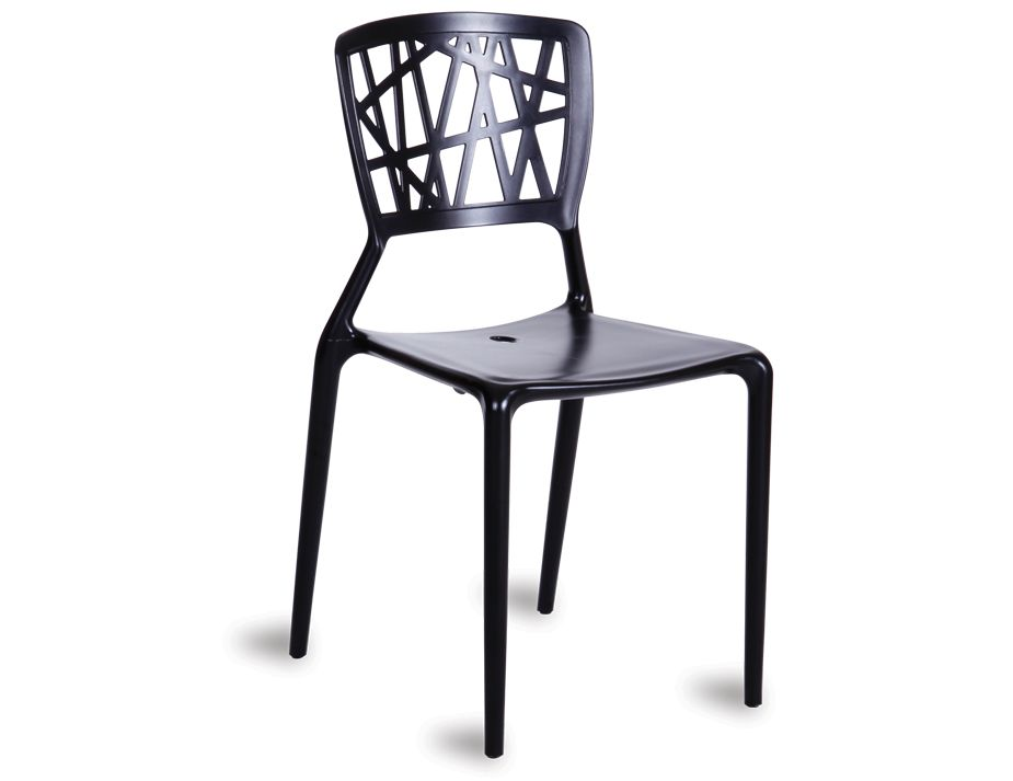 Delicieux Black Cafe Chair ...