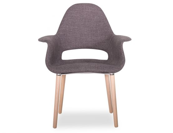 Mod Arm Chair Charcoal_uph Linen