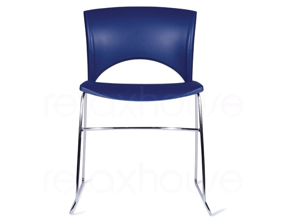Cafeteria Indoor Chair Navy Blue Chair