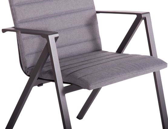 Naxos Outdoor Chair Charcoal